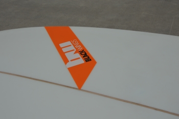 BlackWings 9'6 pro wave TEAHUPOO Cristal Clear