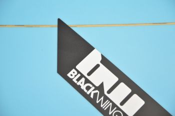BlackWings 6'10 EGG color BLEU LOGO NOIR